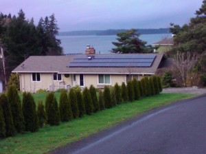Our electricity bill was only $39.00 last month.  Love our solar panels.  :D